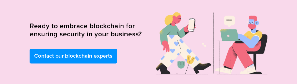 contact our blockchain experts
