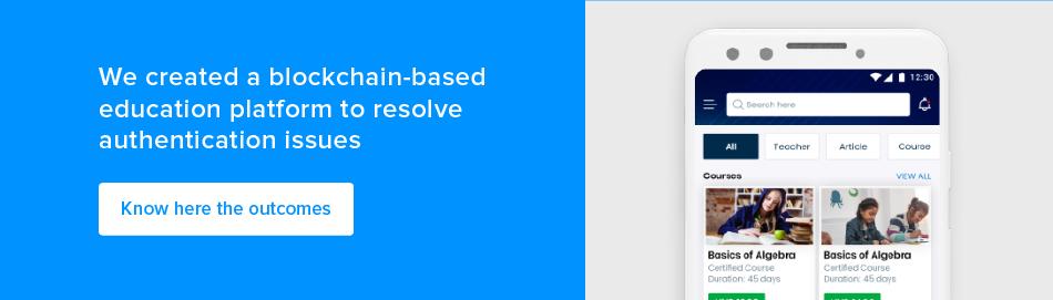 blockchain education app development