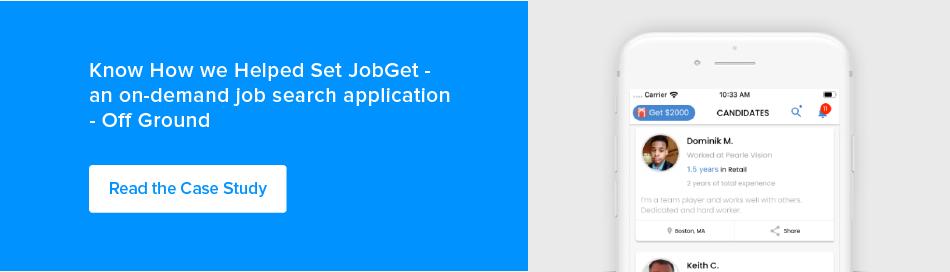 Appinventiv JobGet case study