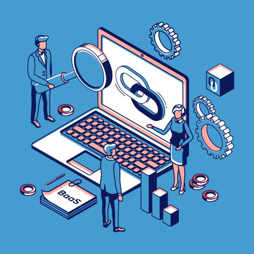 Blockchain as a Service provider