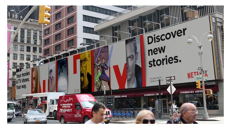 netflix billboard ad