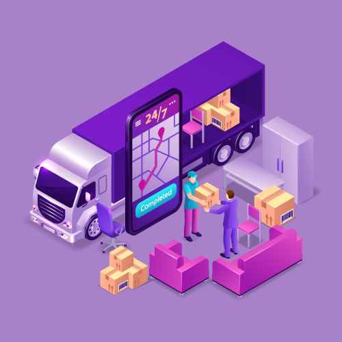 on demand in logistics courier services