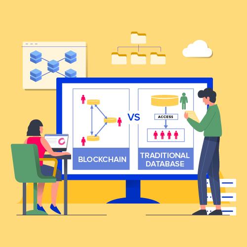 Blockchain vs Traditional database