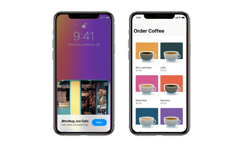 app clip within app