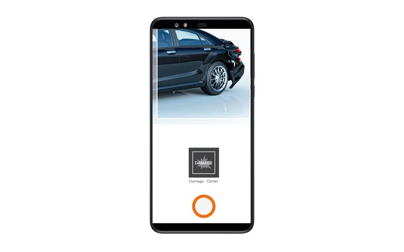 insurance app file a claim feature
