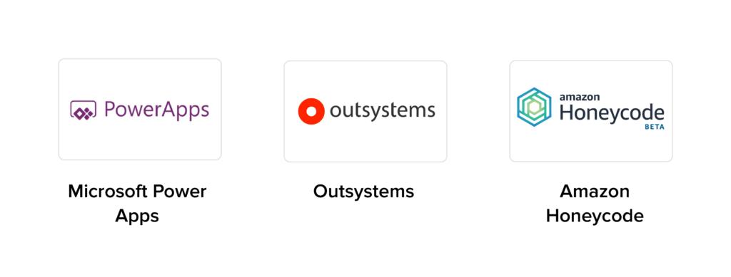 low code no code app development platforms