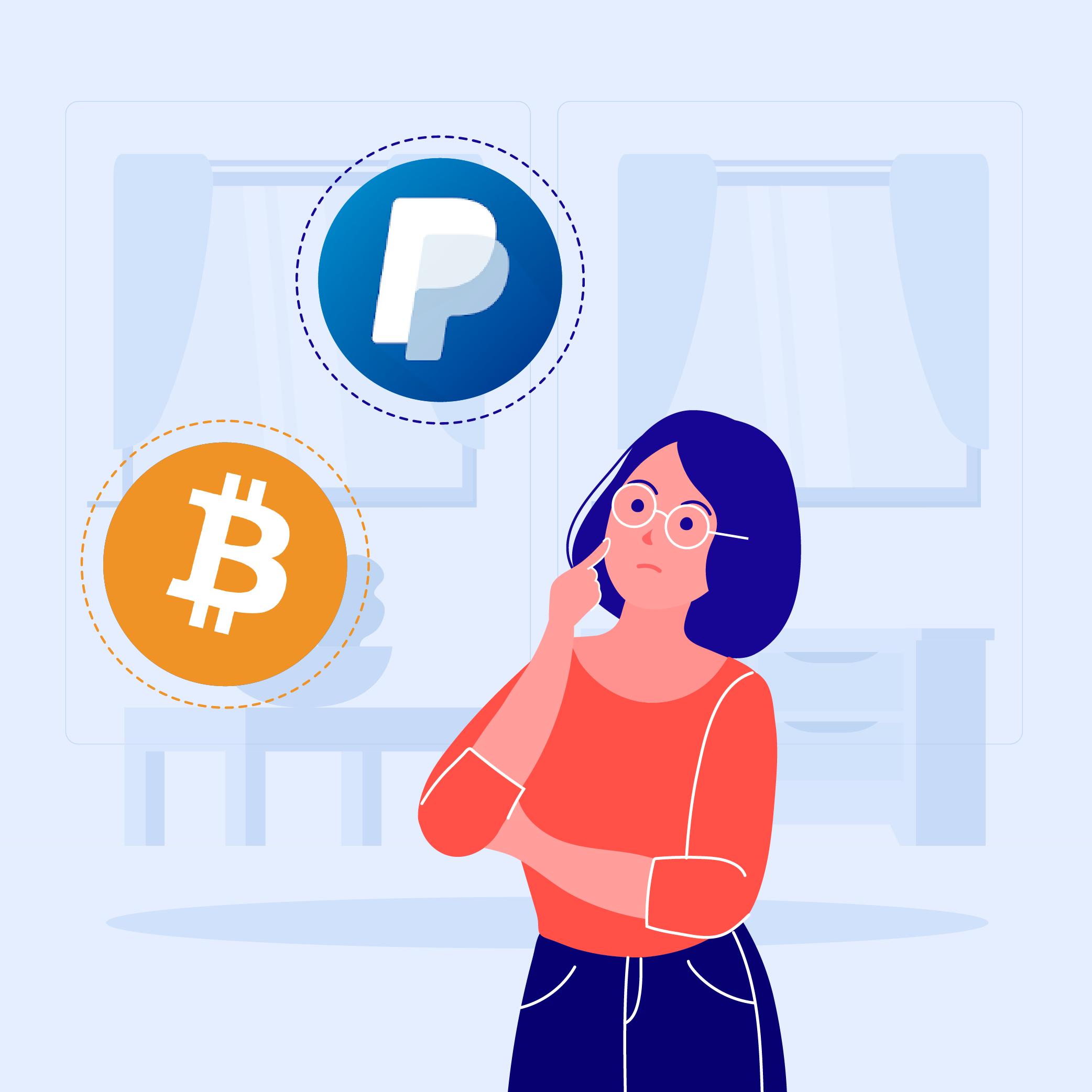 Pirkti bitcoin paypal. Saugūs atsiskaitymo būdai