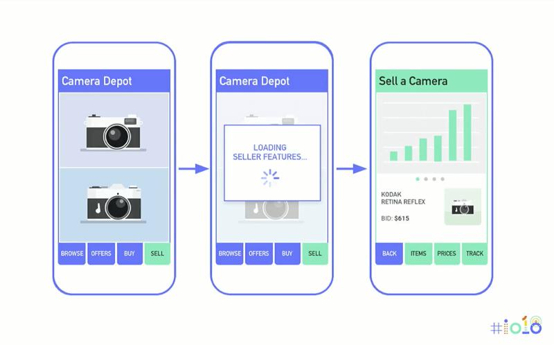 Dynamic delivery in app bundle