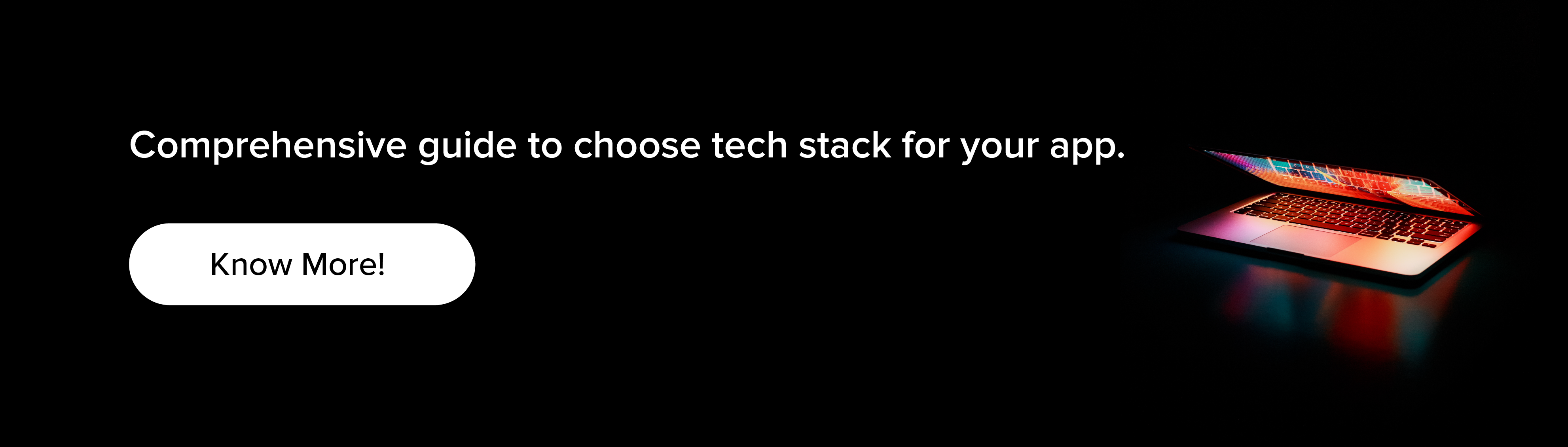 Comprehensive guide to choose tech stack for your app.