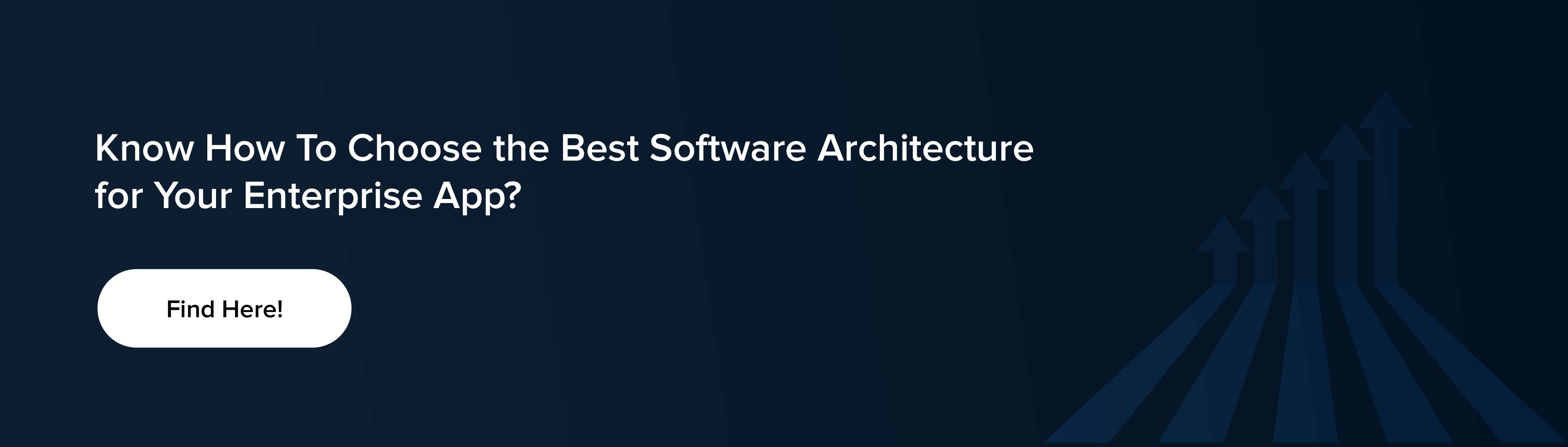 best software architecture for enterprize app