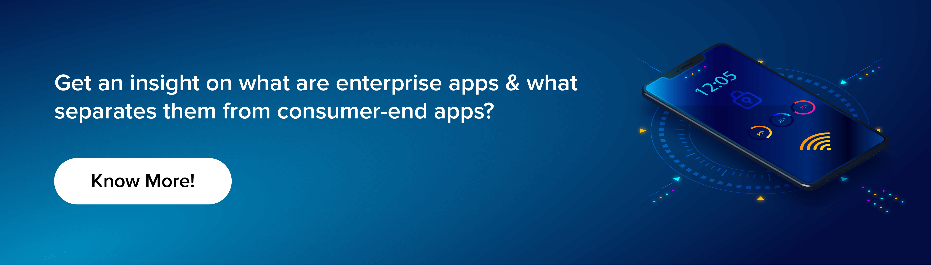 difference between enterprize app and consumer end app