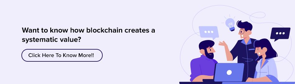 blockchain creates a systematic value