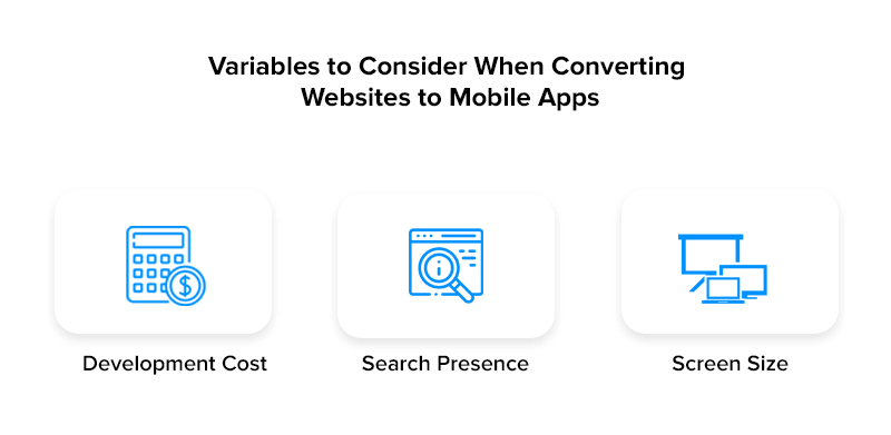 Variables to Consider When Converting Websites to Mobile App