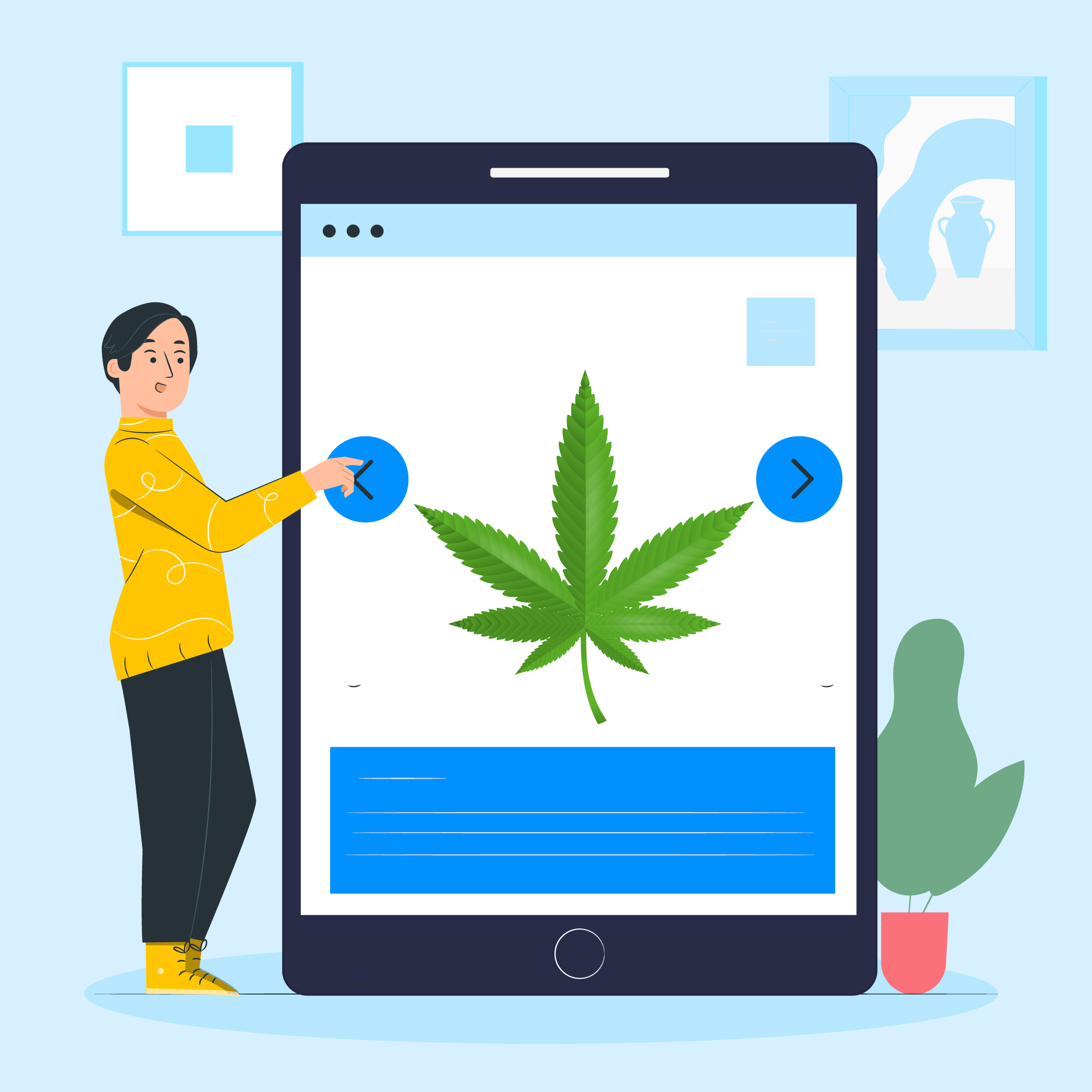 How To Bring Your Cannabis Business Online