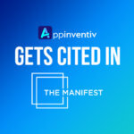 Appinventiv Gets Cited in The Manifest Survey