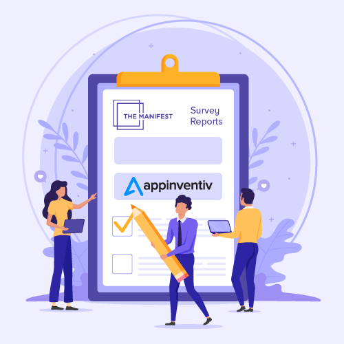 Appinventiv Gets Cited in The Manifest Survey Report
