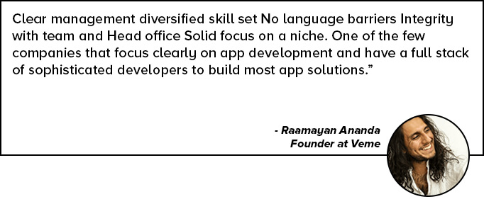 Raamayan Ananda Quote for Mobile App Development Services